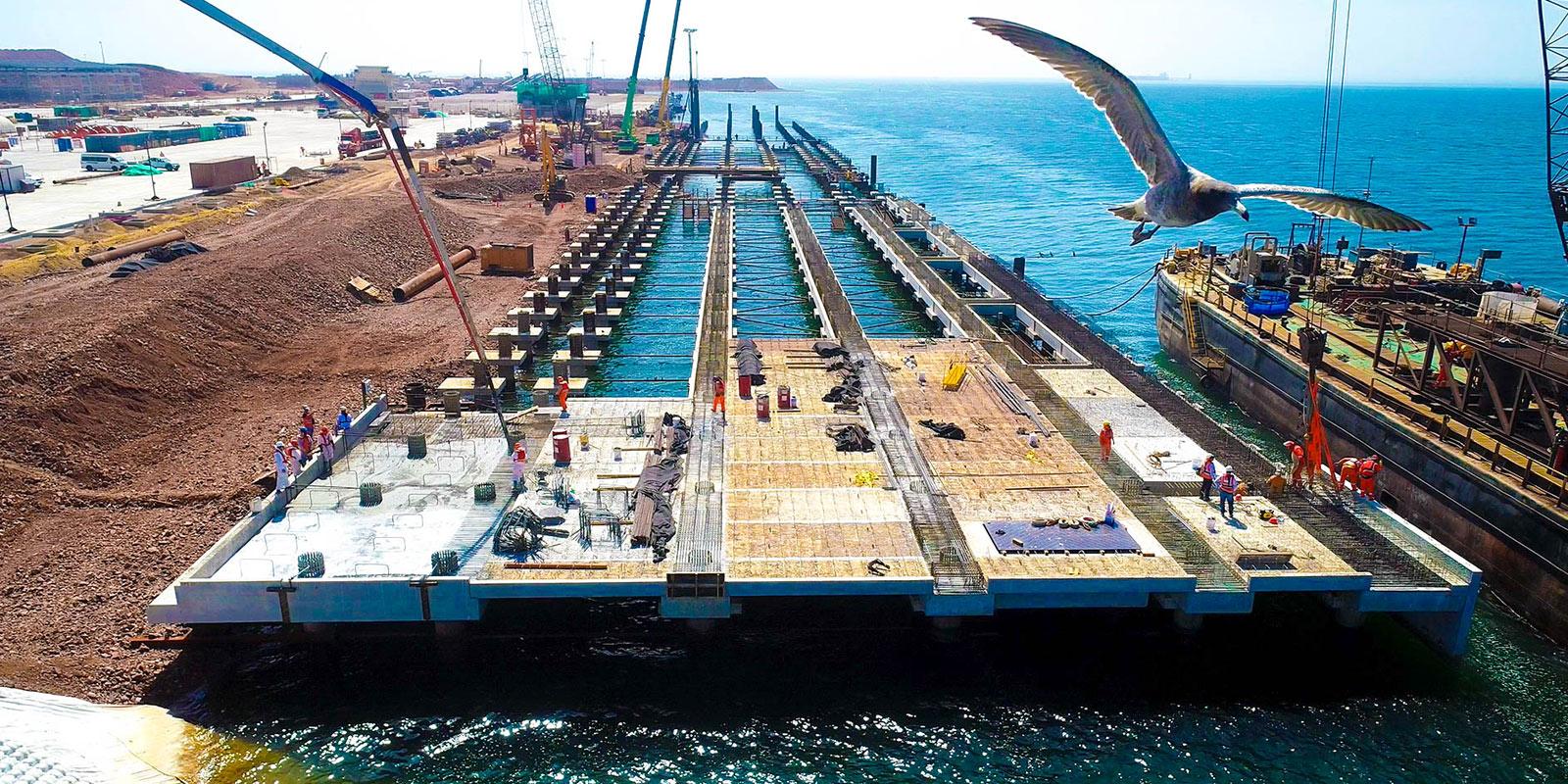 Obras del puerto general San Martín vienen aportando a la reactivación de la economía en la región Ica