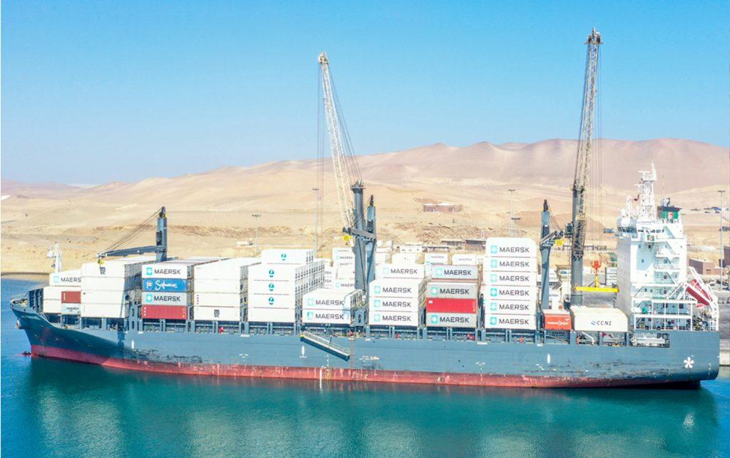 puerto multipropósito moderno y seguro